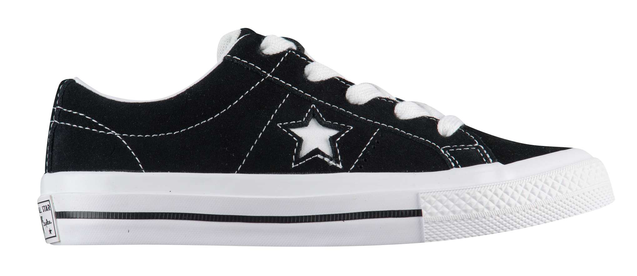 Boys Converse One Star Ox - Preschool - Black/White