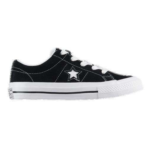 Boys Converse One Star Ox - Preschool - Black/White