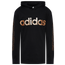 adidas Linear Hooded Long Sleeve T-Shirt - Boys' Grade School
