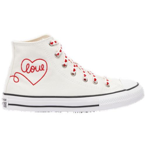 Converse Canvases GIRLS CONVERSE ALL STAR HI LOVE THREAD