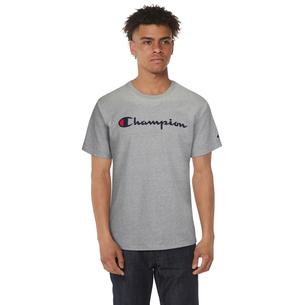 Champion Cotton Script Logo T-Shirt - Men's