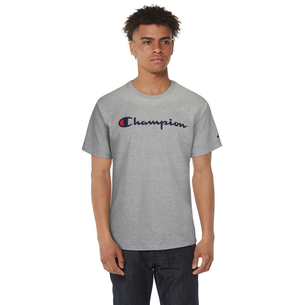Champion Cotton Script Logo T-Shirt - Men's