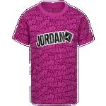 Jordan Sticker T-Shirt - Girls' Grade School