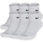 Nike 6 Pack Dri-FIT Plus Quarter Socks. - Men's