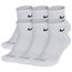 Nike 6 Pack Dri-FIT Plus Quarter Socks. - Men's