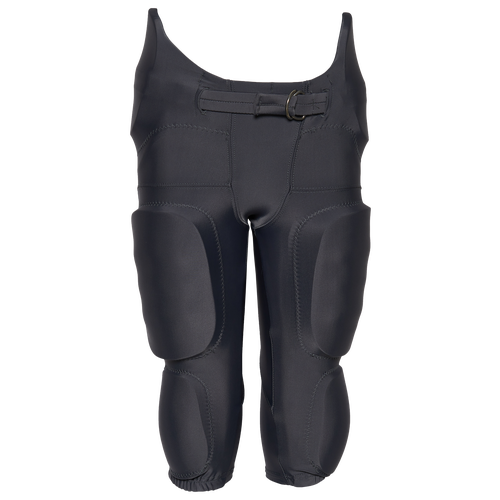The Alleson Team Integrated Football Pants provide the compression, durability, and comfort you need on the gridiron to dominate. Fabric is abrasion resistant for increased durability. Five-panel construction with no-fly crotch provides mobility and comfort. Sewn-in pads with plastic inserts provide protection. Entire pant is washable. Bar tacked at key stress points for durability. 85% polyester / 15% spandex. Imported. Alleson Team Integrated Football Pants - Boys\\\' Grade School - Charcoal, Size S.
