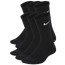 Nike 6 Pack Cushioned Crew Socks - Boys' Grade School