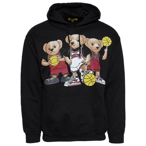 Chinatown Market Cottons MENS CHINATOWN MARKET TRIPLE THREAT BEAR HOODIE