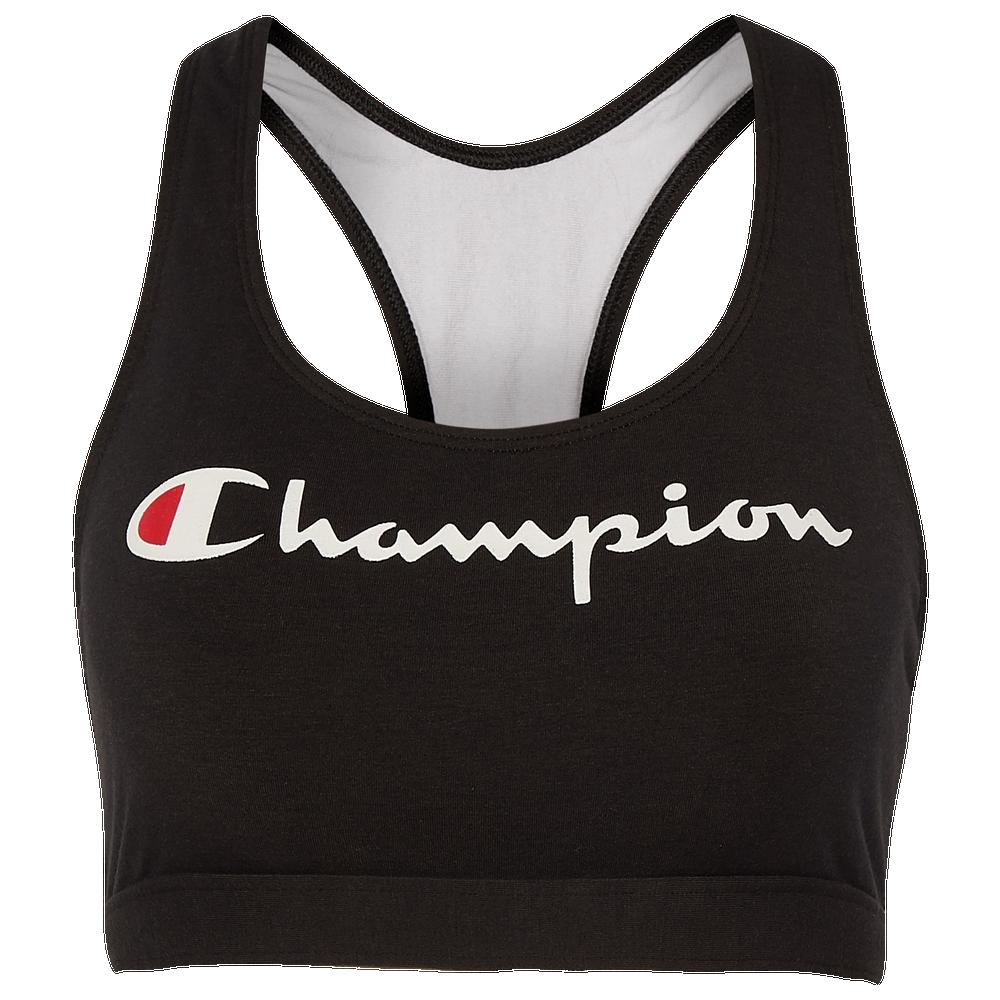 Champion Reissue Bra - Womens / Black/White