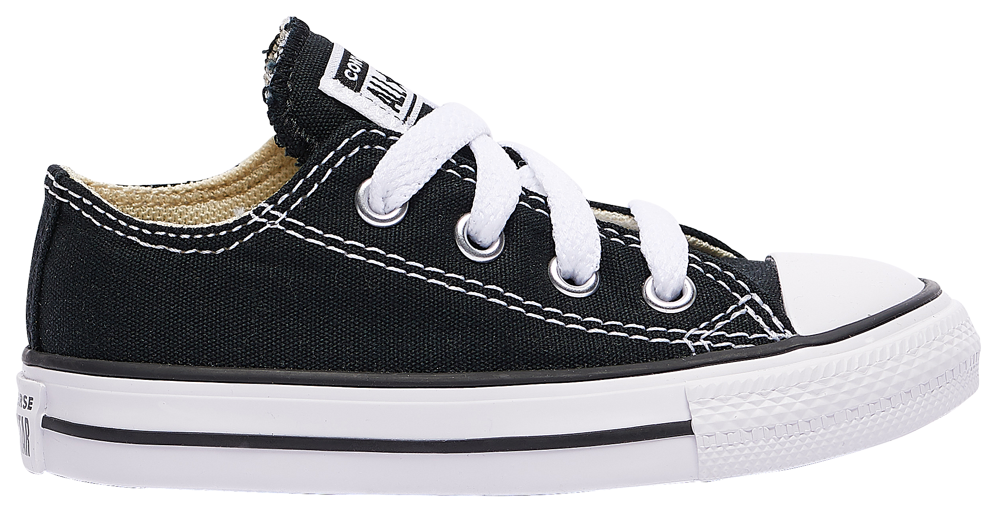 Kids Converse All Star Ox - Boys Toddler - Black