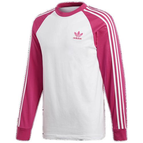 adidas 3 Stripe Long Sleeve T-Shirt - Men s - Clothing 64d8409f5