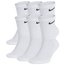 Nike 6 Pack Performance Cotton Crew Socks - Men's