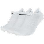 Nike 3 Pack Dri-FIT Cotton No Show Socks - Men's