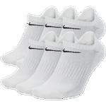 Nike 6 Pack Dri-FIT Cotton No-Show Socks - Men's