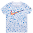 Nike Swoosh Speckle AOP S/S T-Shirt - Boys' Toddler