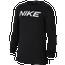 Nike Pro Long Sleeve Fitted Top - Boys' Grade School