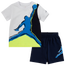 Jordan Painted Jumpman Tee & Short Set - Boys' Toddler
