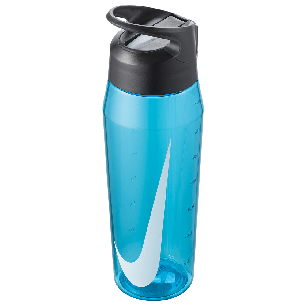 Nike TR Hypercharge Straw Bottle 32 OZ / Blue Fury/Anthracite/White