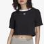 adidas Ringer Crop T-Shirt  - Women's