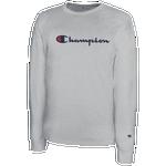Champion Classic Cotton L/S T-Shirt - Men's