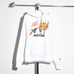 Just Don LLC Flames Fleece Hoodie - Men's