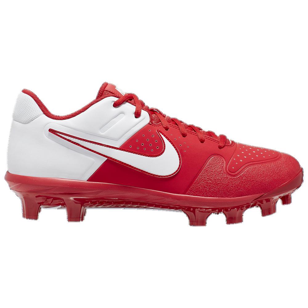 Nike Alpha Huarache Varsity Low MCS - Mens / University Red/White
