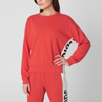 Juicy Side Panel Terry Crew - Women's