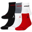 Jordan Jumpman 6 Pack Quarter Socks - Boys' Grade School
