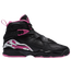 Jordan Retro 8 - Girls' Grade School