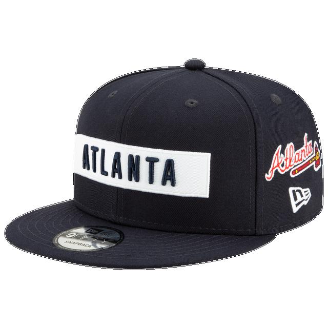 New Era MLB Atlanta Braves Logo City Snapback Cap