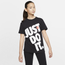 Nike NSW Boyfriend Oversized JDI T-Shirt - Girls' Grade School