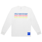 Fila X VFILES World Famous Long Sleeve T-Shirt - Men's