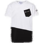 Champion Elongated Pocket T-Shirt - Boys' Grade School