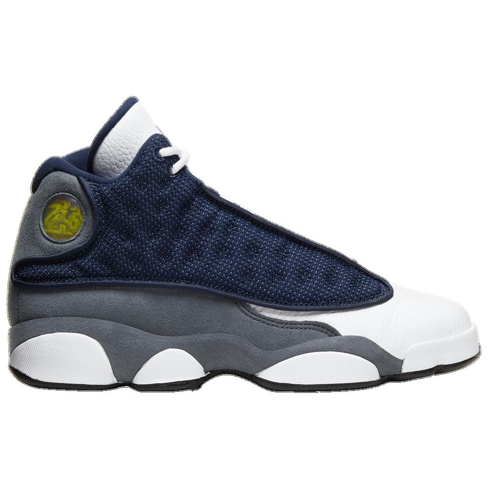 Jordan Retro 13 - Boys Grade School / Navy/University Blue/Flint Grey