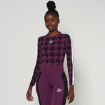 PUMA Trend AOP Long Sleeve Bodysuit - Women's