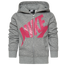 Nike Futura Fleece Full-Zip Hoodie - Girls' Preschool