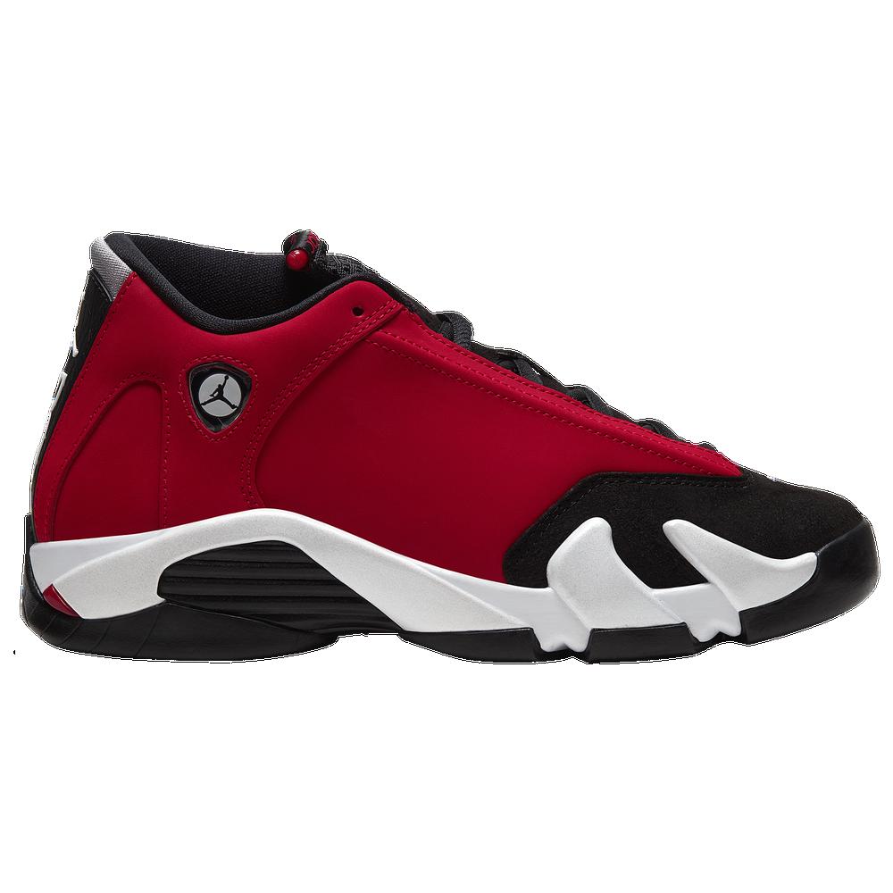 Jordan Retro 14 - Boys Grade School / Black/Gym Red/White