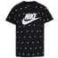 Nike Script AOP T-Shirt - Boys' Grade School