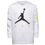 Jordan Suit Up Long Sleeve T-Shirt  - Boys' Grade School
