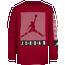 Jordan Graphic Long Sleeve T-Shirt  - Girls' Preschool