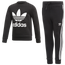 adidas Originals Trefoil Fleece Set  - Boys' Preschool