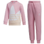 adidas Originals Trefoil Fleece Crew Set  - Girls' Preschool