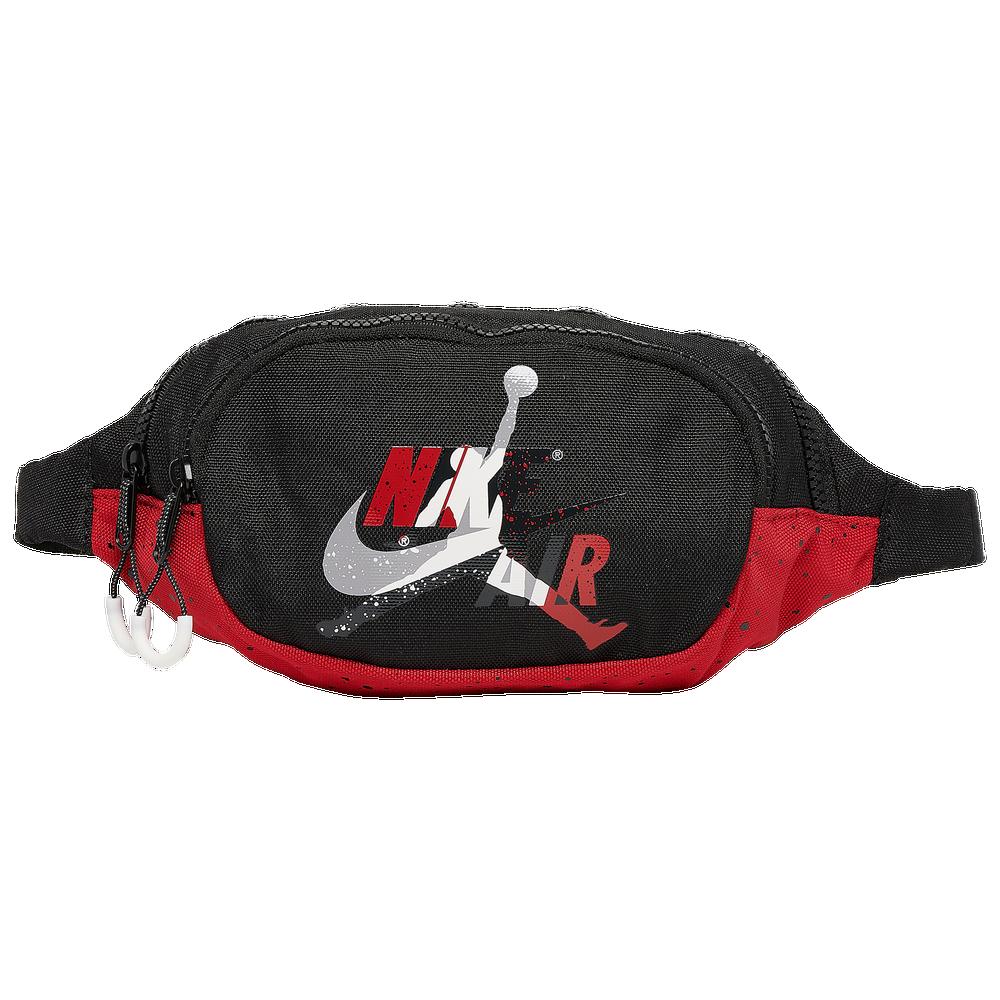 Jordan Jumpman Classic Crossbody Bag / Black/Gym Red