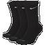 Nike 3 Pack Dri-FIT Cushion Crew Socks  - Men's