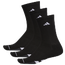 adidas 3 Pack Crew Socks  - Men's