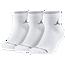 Jordan Jumpman Quarter 3 Pack Socks  - Adult