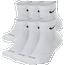 Nike 6 Pack Everyday Plus Cushion Ankle Socks  - Men's