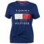 Tommy Hilfiger Logo Knot Front T-Shirt - Women's