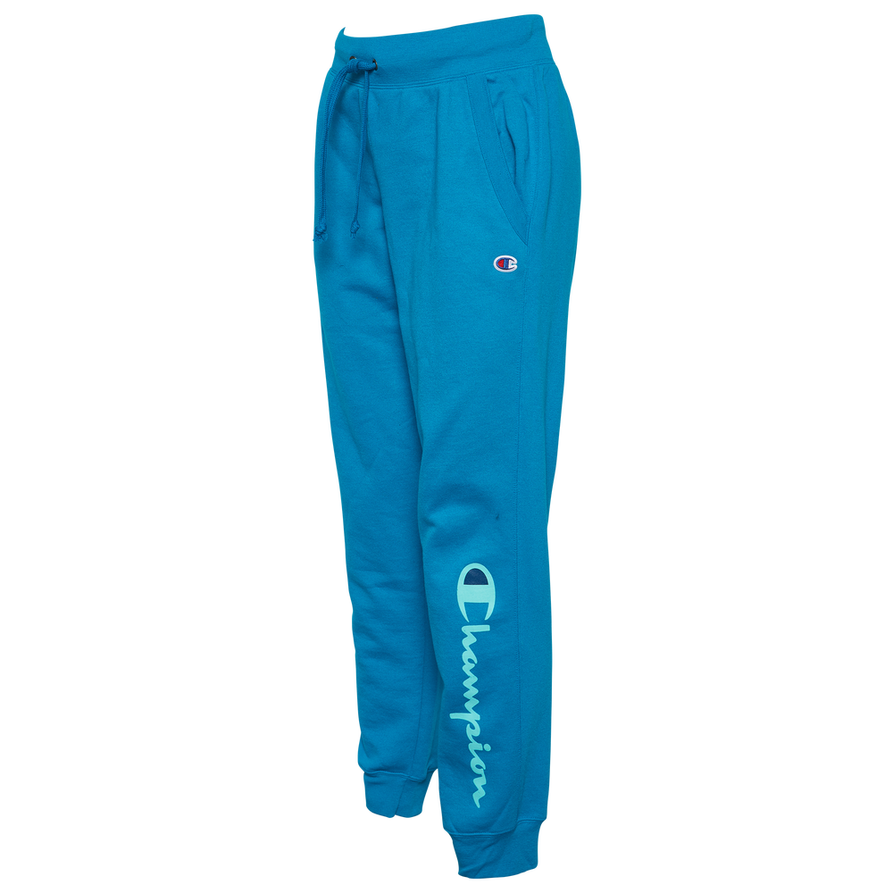 Champion Powerblend Graphic Jogger - Womens / Rockin Teal