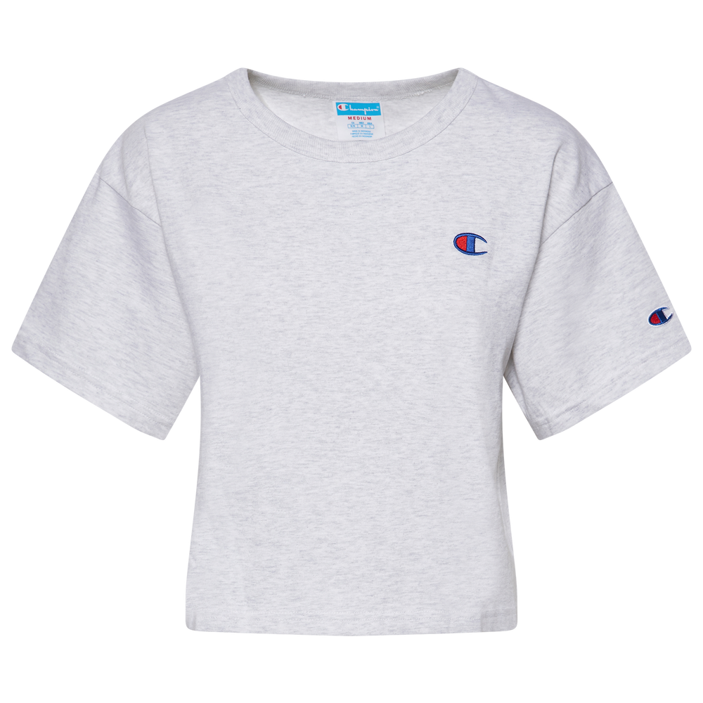 Champion Heritage Cropped T-Shirt - Womens / Silver Grey
